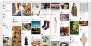 pinterest screen